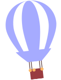 Seed Kindness Fund blue hot air balloon