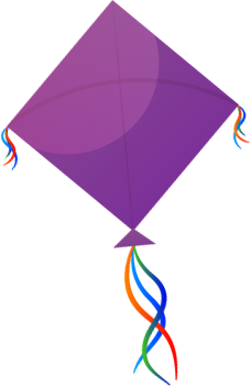 Seed Kindness Fund purple kite